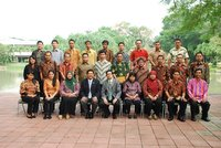 Participants from Ministry of Transportation, Indonesia