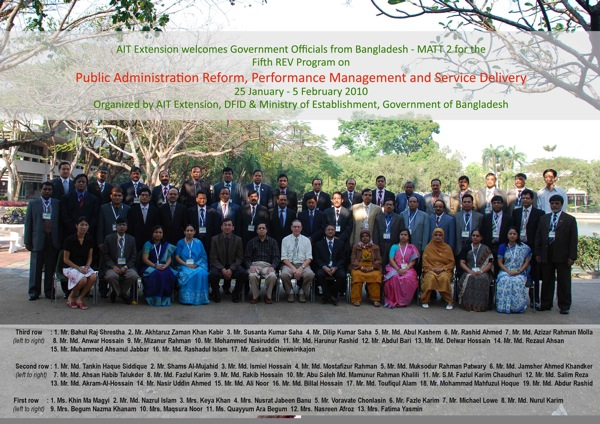 Public Administration Reform, Performance Management and Service Delivery